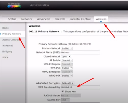 Cara Mengubah Password Wifi First Media Modem Technicolor